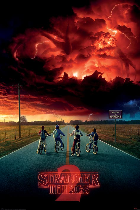 Stranger Things: Mind Flayer Portrait Poster