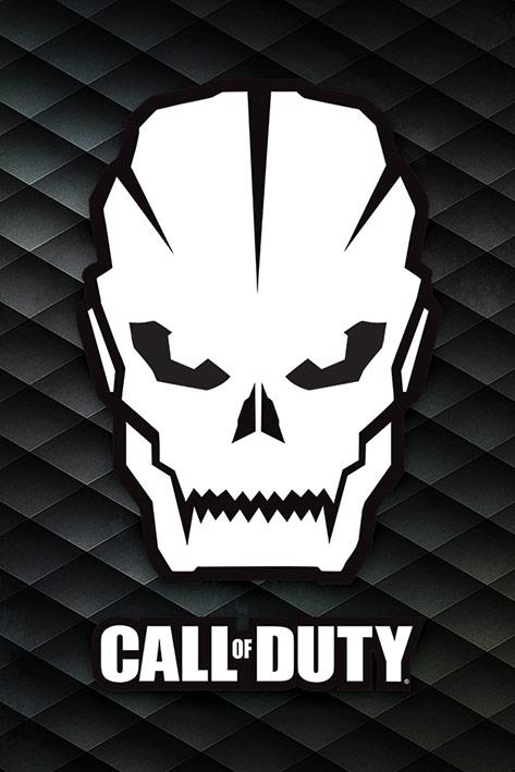 Call Of Duty: Skull Portrait Poster