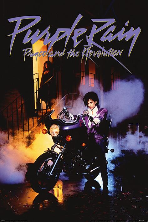 Prince: Purple Rain Portrait Poster