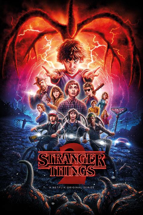 Stranger Things: One-Sheet Season 2 Portrait Poster