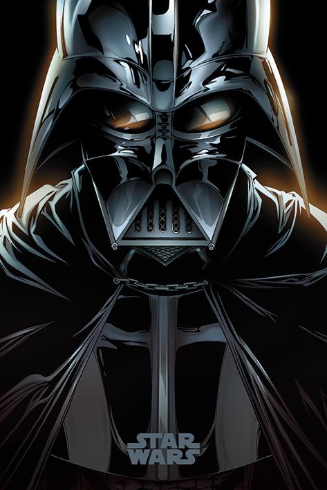 Star Wars: Vader Comic Portrait Poster