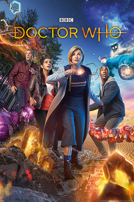 Doctor Who: Chaotic Portrait Poster