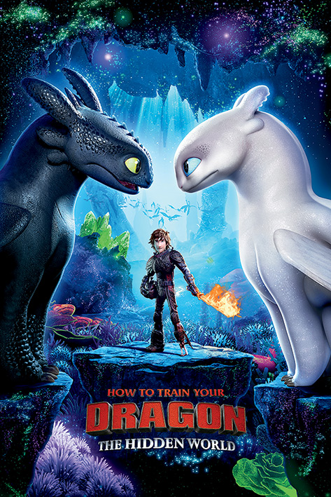 How To Train Your Dragon: One Sheet Portrait Poster