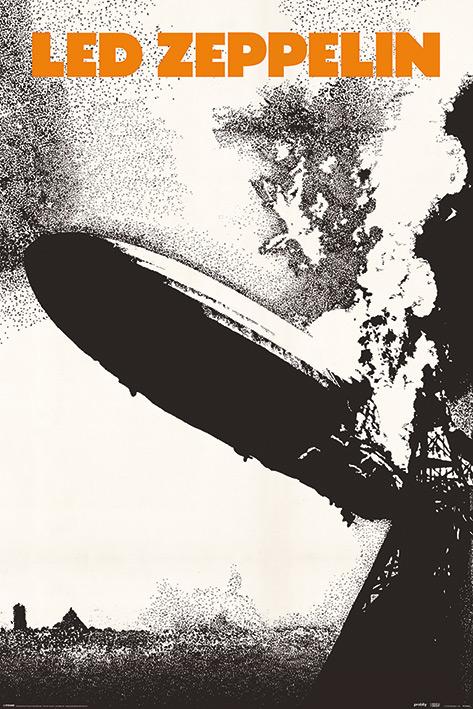 Led Zeppelin: Led Zeppelin I Portrait Poster