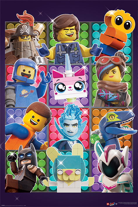 The Lego Movie 2: Some Assembly Required Portrait Poster