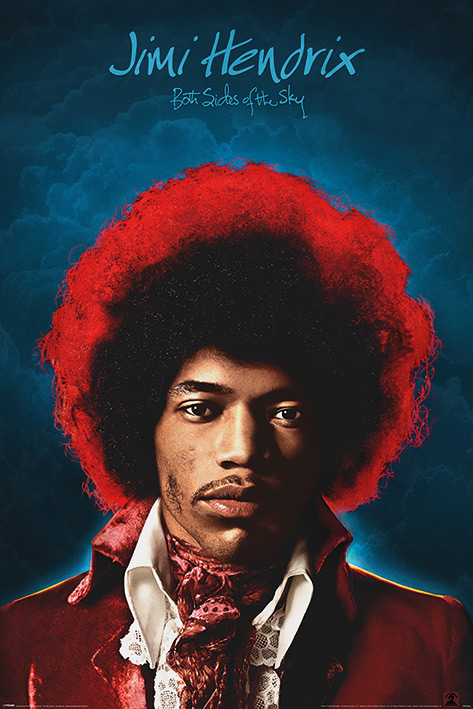 Jimi Hendrix: Both Sides of the Sky Portrait Poster