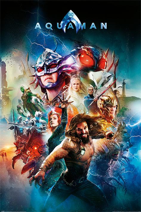 Aquaman: Battle For Atlantis Portrait Poster