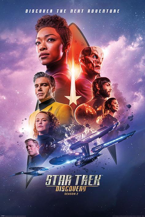 Star Trek Discovery: Next Adventure Portrait Poster