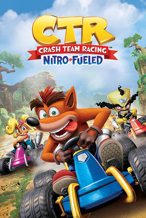 Crash Team Racing: Race Portrait Poster