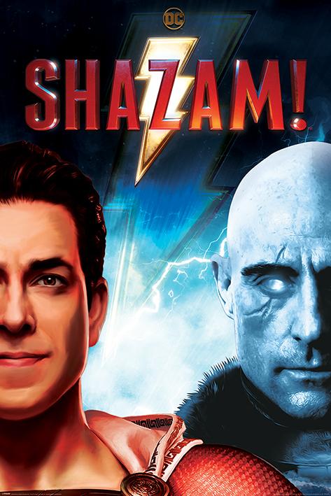 Shazam: Good vs Evil Portrait Poster