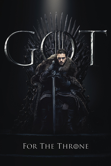 Game of Thrones: Jon For The Throne Portrait Poster