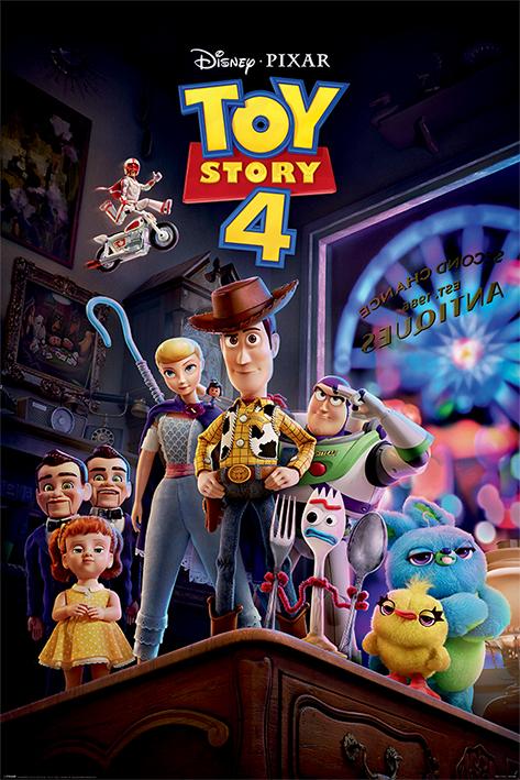 Toy Story 4: Antique Shop Anarchy Portrait Poster