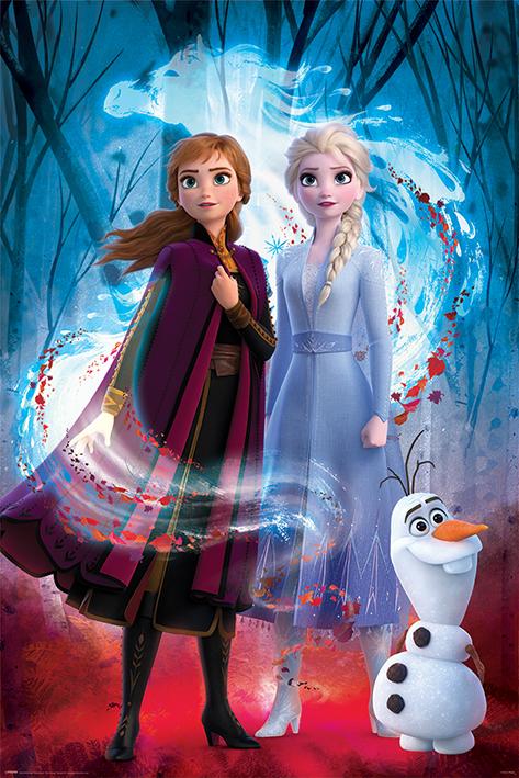 Frozen 2: Guided Spirit Portrait Poster