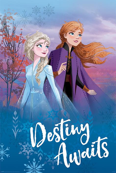 Frozen 2: Destiny Awaits Portrait Poster