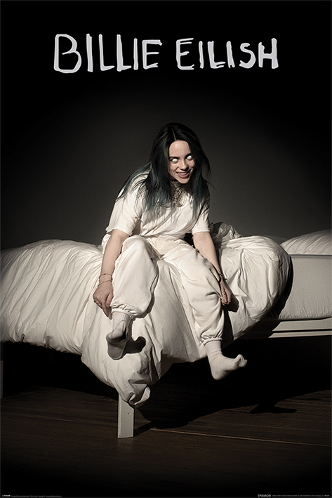 Billie Eilish: When We All Fall Asleep Where Do We Go Portrait Poster