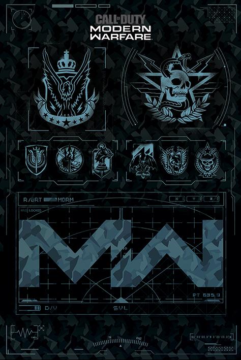 Call of Duty: Modern Warfare Portrait Poster