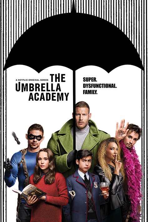 The Umbrella Academy: Super Dysfunctional Family Portrait Poster