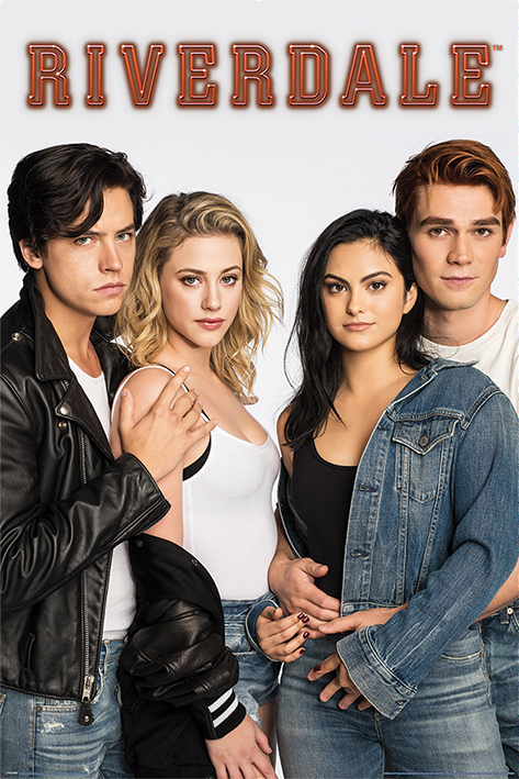 Riverdale: Bughead and Varchie Portrait Poster