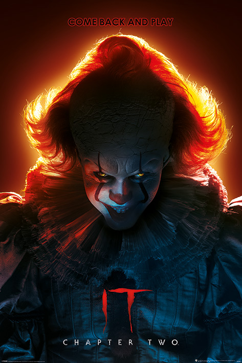 IT Chapter Two: Come Back and Play Portrait Poster