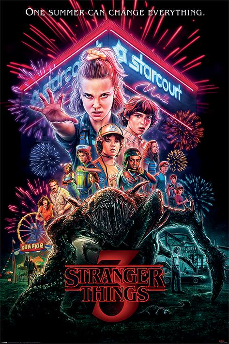 Stranger Things: Summer of 85 Portrait Poster