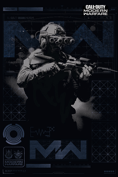 Call of Duty: Modern Warfare - Elite Portrait Poster