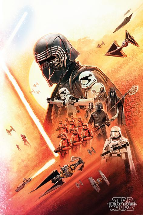 Star Wars: The Rise of Skywalker (Kylo Ren) Portrait Poster