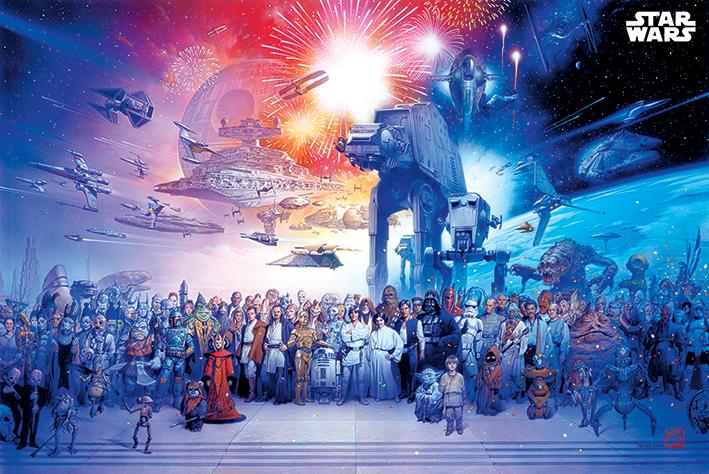 Star Wars: Universe Landscape Poster
