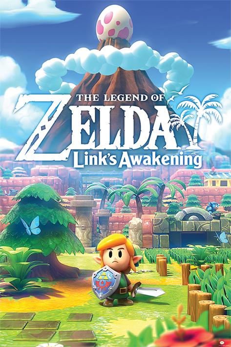 The Legend Of Zelda: Links Awakening Portrait Poster
