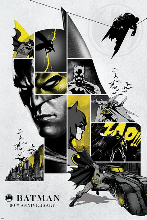 Batman: 80th Anniversary Portrait Poster