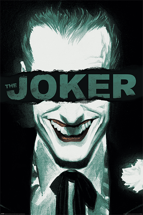 The Joker: Put on a Happy Face Portrait Poster