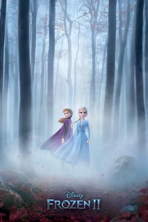 Frozen 2: Woods Portrait Poster