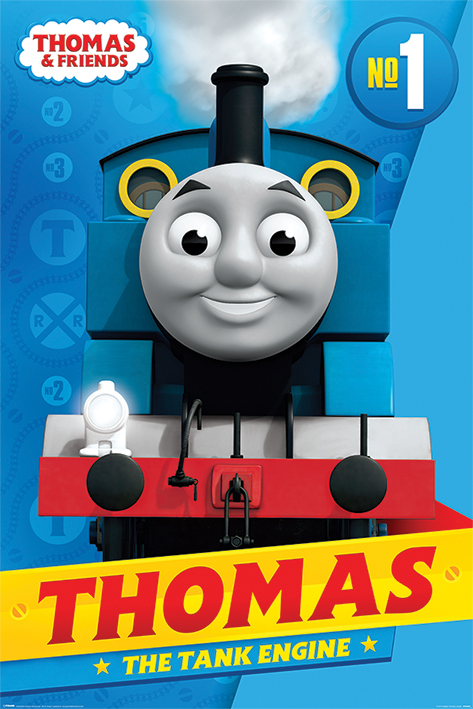 Thomas & Friends: Thomas Portrait Poster