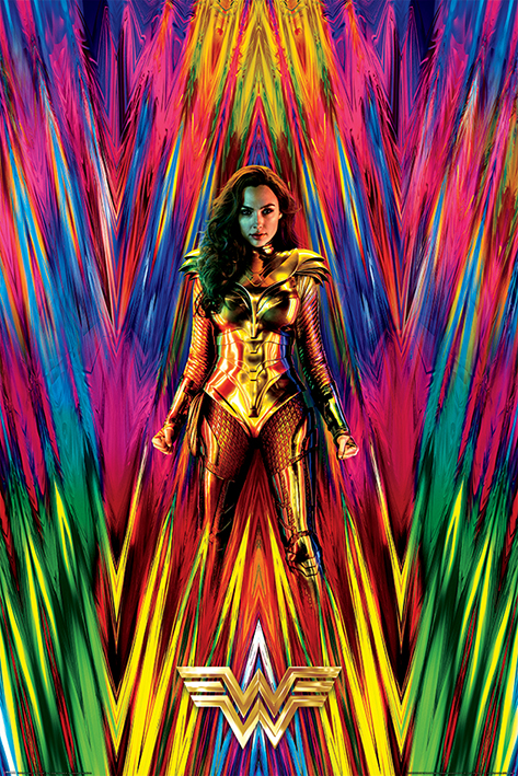 Wonder Woman 1984: Neon Portrait Poster