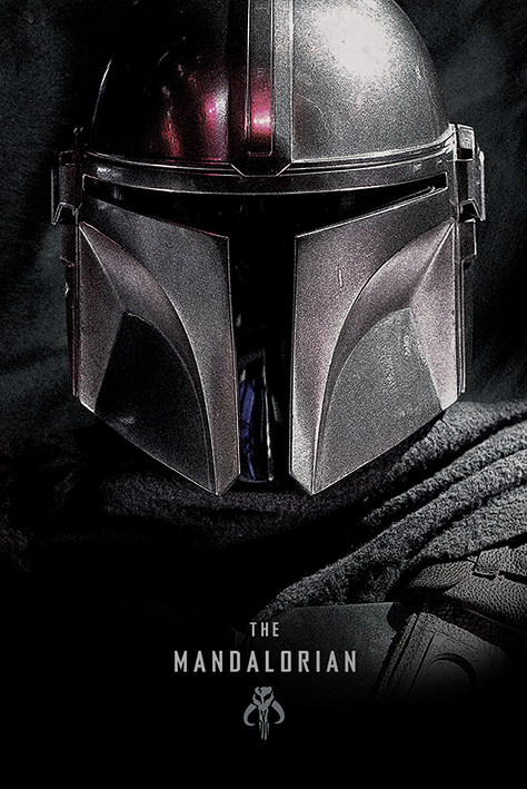 Star Wars: The Mandalorian Portrait Poster