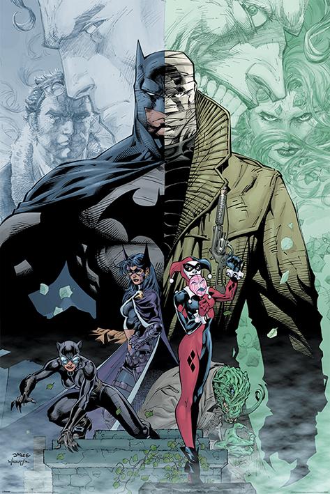 Batman: Hush Portrait Poster