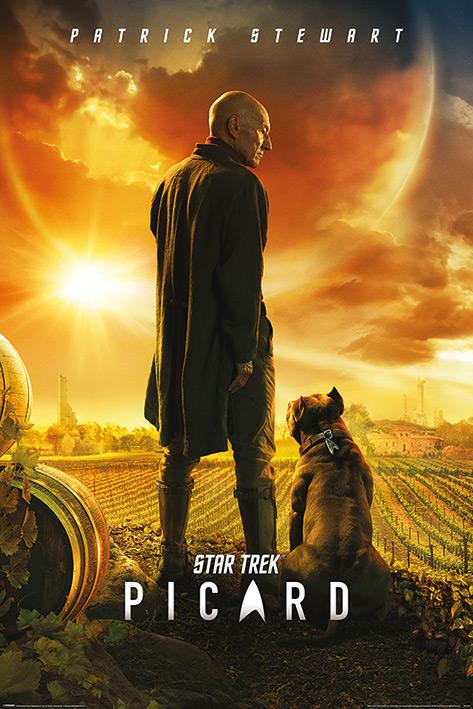 Star Trek Picard: Picard Number One Portrait Poster