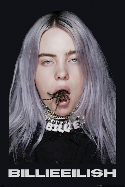 Billie Eilish: Spider Portrait Poster