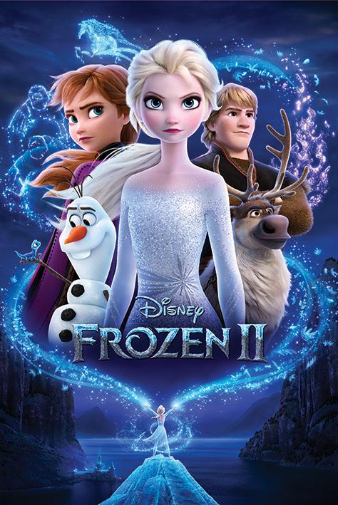 Frozen 2: Magic Portrait Poster