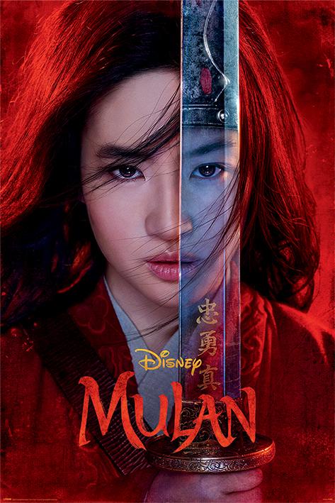 Mulan Movie: Be Legendary Portrait Poster