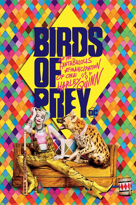 Birds of Prey: Harley's Hyena Portrait Poster