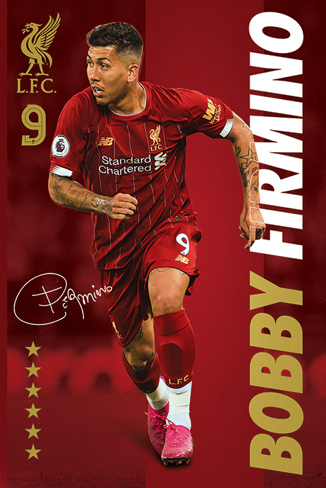Liverpool FC: Bobby Firmino Portrait Poster