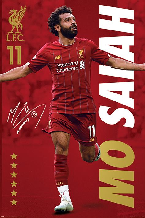 Liverpool FC: Mo Salah Portrait Poster