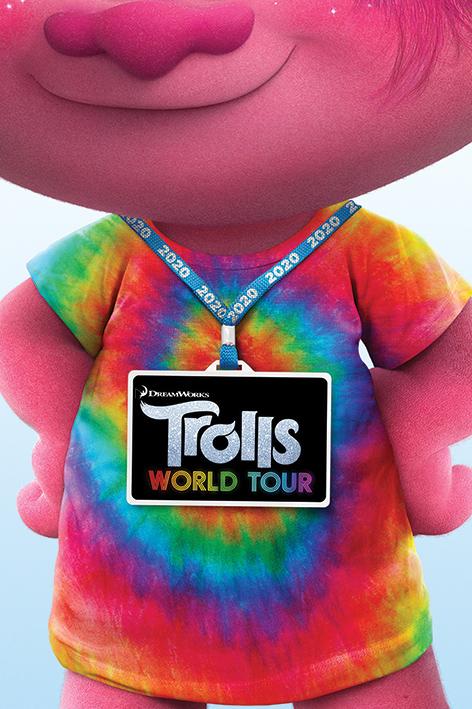Trolls World Tour: Backstage Pass Portrait Poster