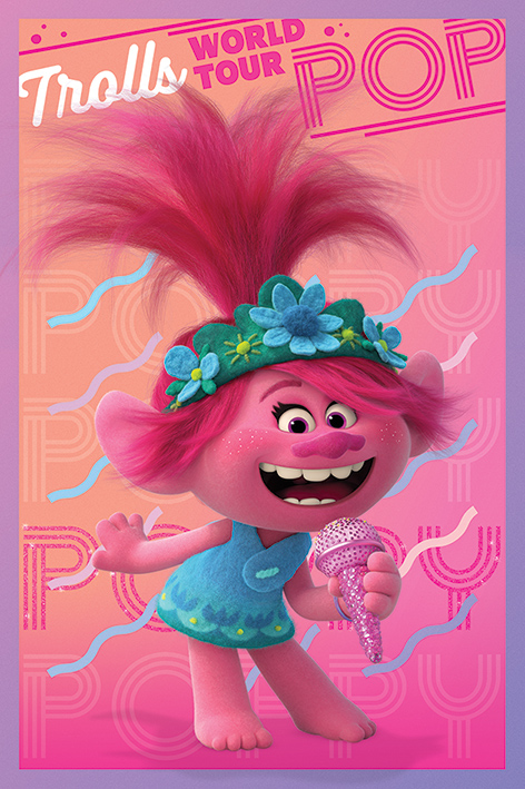 Trolls World Tour: Poppy Portrait Poster