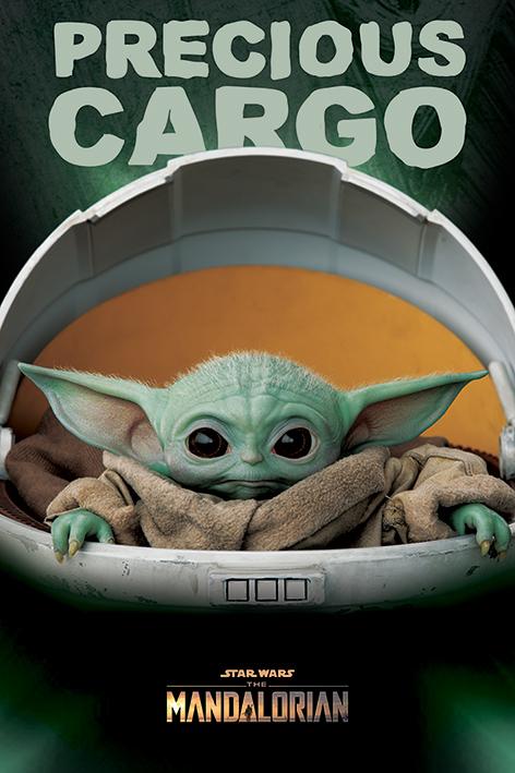 Star Wars: The Mandalorian (Precious Cargo) Portrait Poster