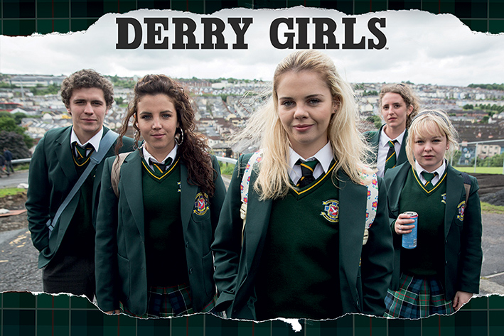 Derry Girls: Rip Landscape Poster