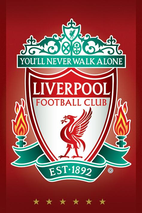 Liverpool FC: Crest Portrait Poster