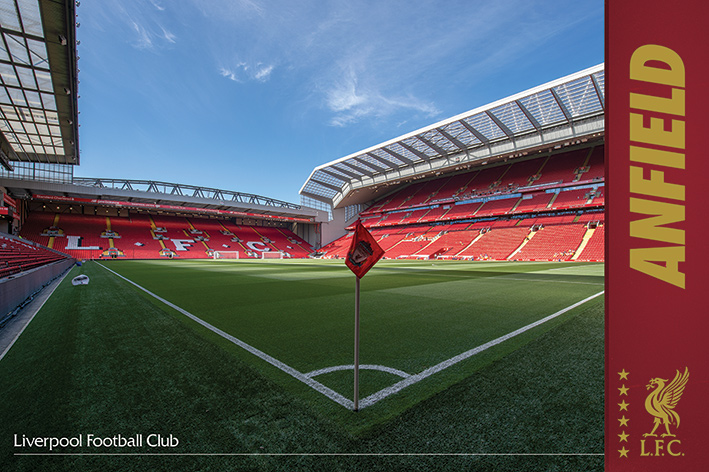 Liverpool FC: Anfield Landscape Poster