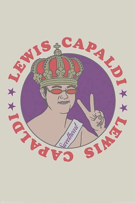Lewis Capaldi: Sweetheart Portrait Poster