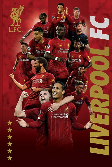 Liverpool FC: 2019 Players Portrait Poster